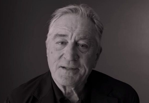 Godfathered - Actor Robert De Niro was supposed to record an ad for a nonpartisan voter campaign but went off script to lambaste Trump instead. ***True
