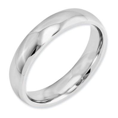 Eternal Bond - Cobalt 5mm Comfort Fit Men's Wedding Band Featuring a High Polish Finish(Size 4-15): Jewelry: Amazon.com