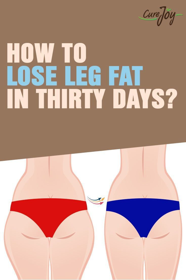 How To Lose Leg Fat In Thirty Days | Health Lala