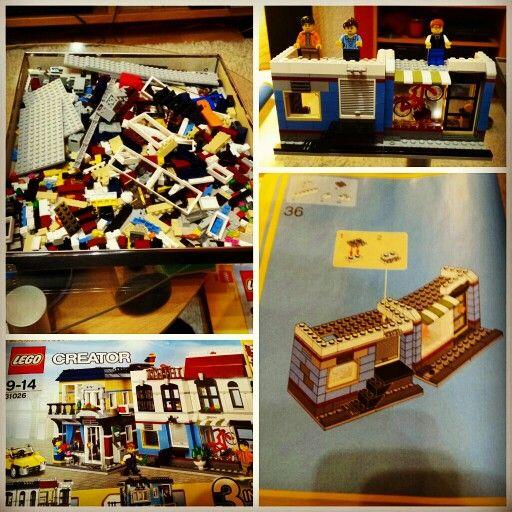 LEGO Creator 31026 nach 2 Stunden Aufbauzeit. Mein erstes großes Set.