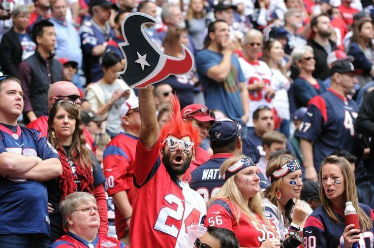 "Texans vs. Patriots - Texan Fans  12-1-13  ""Nice hairdo"""