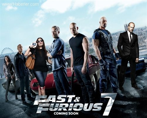 Fırtına gibi bir seriden oluşan film, 2014 yılında talihsiz bir kaza sonucu filmin başrol oyuncusu Paul Walker hayatını kaybetmesiyle üzücü bir hal almıştı. Hızlı ve Öfkeli 7 ise Paul Walker anısına yapılmıştır. Hızlı ve Öfkeli 7 Tanıtım Fragmanları  Filmin Oyuncu Kadrosu Filmin 6.serisindedki oyuncuları bu seride de var Jason Statham , Vin Diesel , Paul Walker , Michelle Rodriguez , Dwayne Johnson Filmin sinemaya giriş tarihi ise 03 Nisan 2015 olarak beklenmekte.Yönetmen koltuğunda ise ...