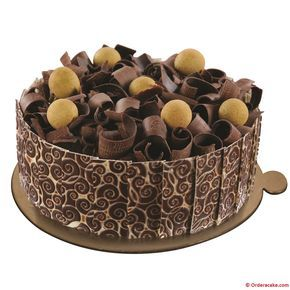 German Black Forest Cake - Savor the taste of delicious cakes for birthdays, and anniversaries, Order a Cake has something for everybody, best online cake delivery in Delhi, NCR.