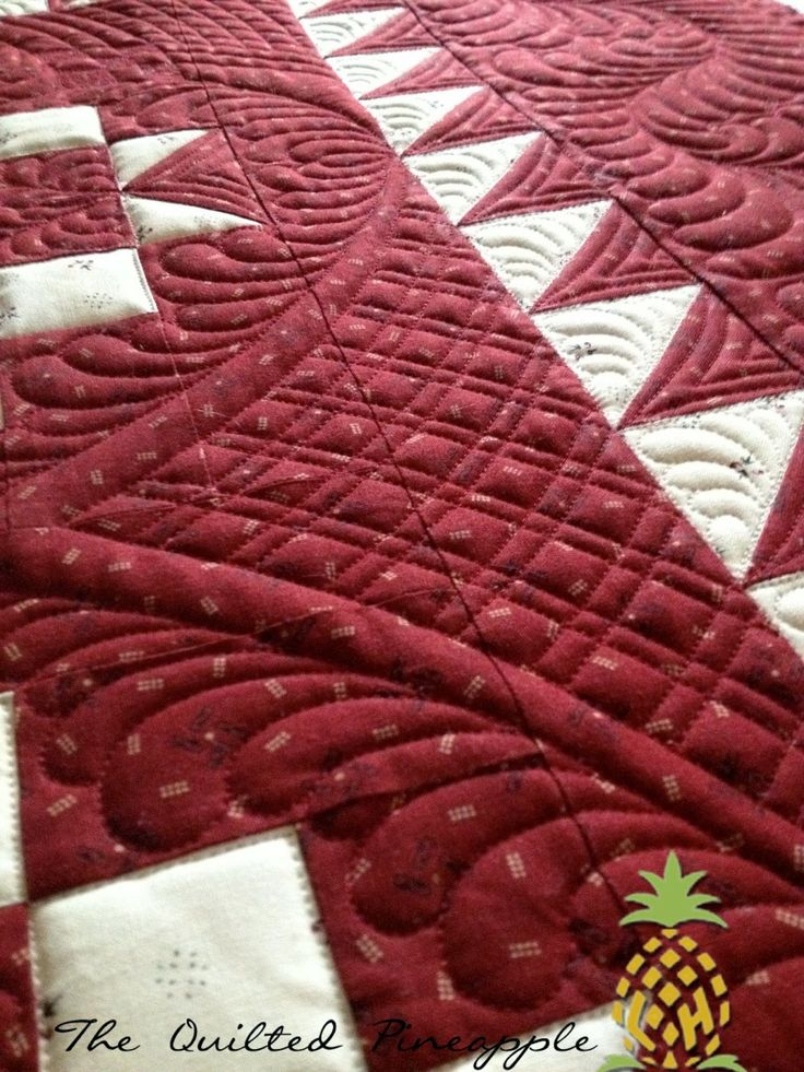177 best Quilts - The Quilted Pineapple images on Pinterest ... : best batting for hand quilting - Adamdwight.com