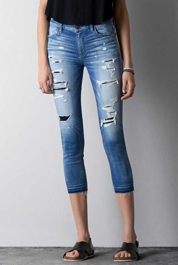 Ae high rise skinny jeans review