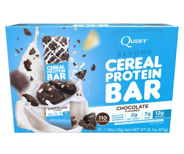(Case of 15) Quest Nutrition - Beyond Cereal Protein Bar - Chocolate
