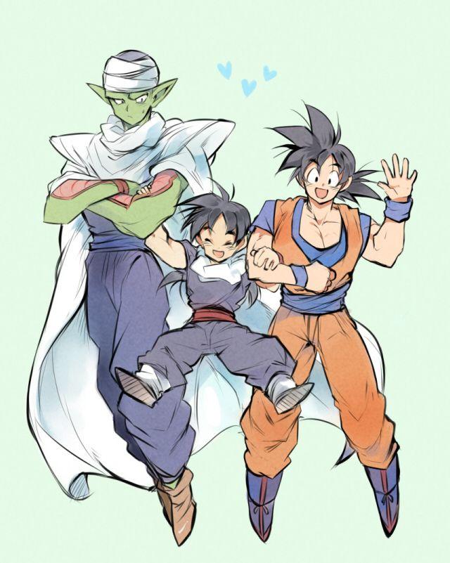 Nawww Piccilo, Gohan and Goku