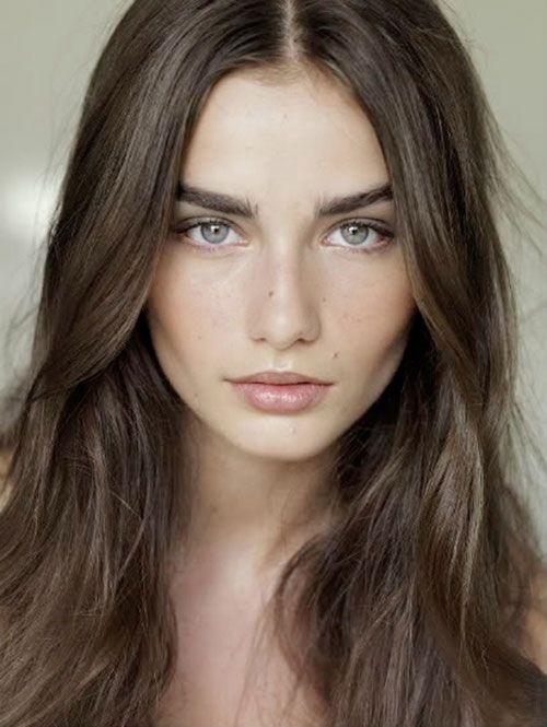 Andreea Diaconu - Natural Make-up