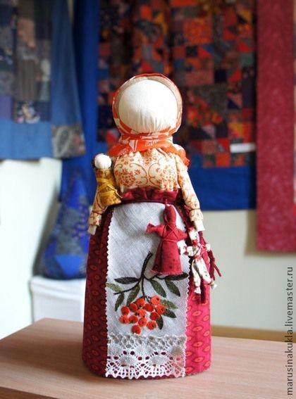 """Народная кукла """"Рябинка"""" - кукла оберег,подарок женщине,Рябина,Рябинка"""