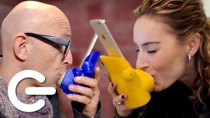"The Kissing App ""Kissenger"" - The Gadget Show"