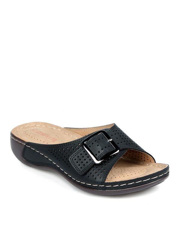 eb86b42e0 Comfeite - Comfeite Slip On Women s Perforated Sandals - Walmart.com