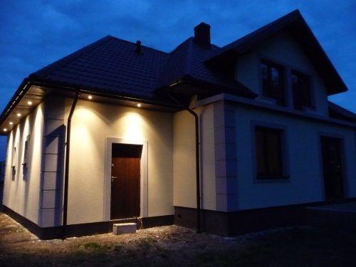 Podświetlenie domu  #aranżacja #projekt #dom