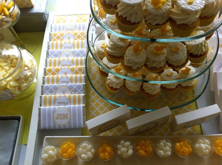 Lemon Christening Candy Buffet by www.livingsimpe.ie in Kilkenny