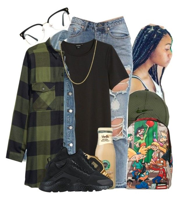"""""""Million ~ Tink"""" by retrovintagepizza ❤ liked on Polyvore featuring NIKE, Nickelodeon, Monki, Madewell, G-Shock, GlassesUSA and David Yurman"""