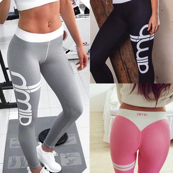 Women's Sports Gym Yoga Workout Mesh Leggings Fitness Leotards Athletic Pants #UnbrandedGeneric #PantsTightsLeggings