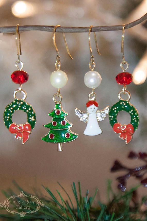 Black Friday Sale Christmas Earrings Christmas Gift Christmas