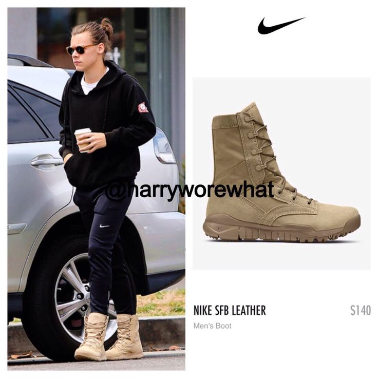 Harry wore: Nike sfb leather boot - Nike $140