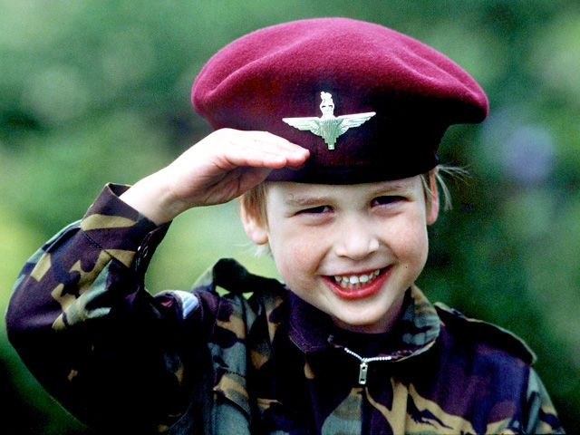 Kate Middleton, Prince William Childhood Photos: The Duke and Duchess as Kids!: Prince William at 4