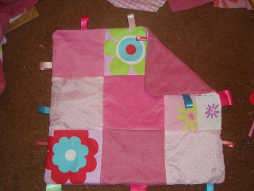 How to make tag blankets - Making Baby clothes and accesories - BabyCentre