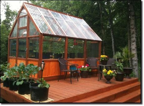 Cameron Gilchrst greenhouse  from Sun Country Greenhouse plans