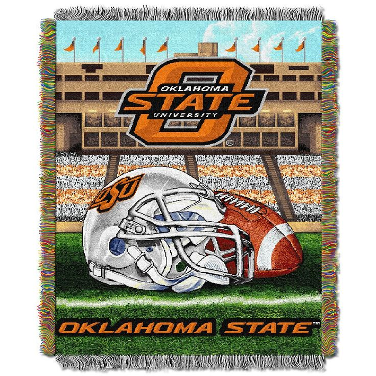 Oklahoma State Cowboys Tapestry Throw by Northwest, Multicolor