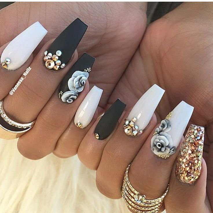 Prom Nail Ideas For Long: 1726 Best Images About Nails On Pinterest