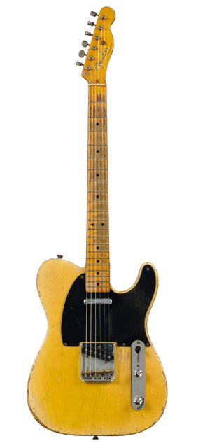 I am a total sucker for old Tele's...this is just about perfection...1953 Fender Telecaster
