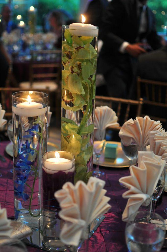 Wedding centerpieces candle votives