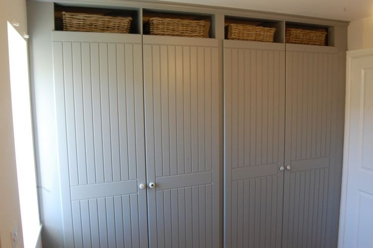 Image result for tongue and groove fitted wardrobes