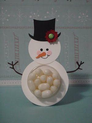 snowman punch art