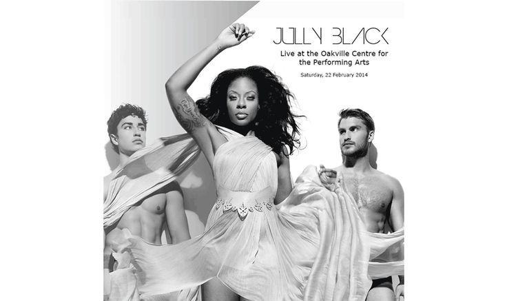 Jully Black Live at Oakville Centre for the Performing Arts February 22 @ 8:00 pm