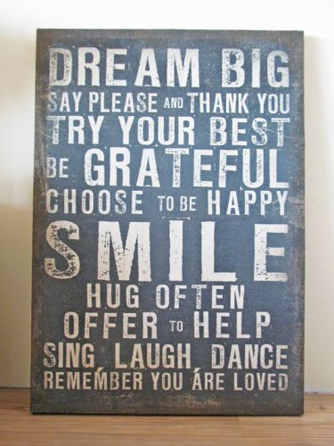 Something to always rememberDreams Big, Cute Quotes, Kids Room, Life Lessons, House Rules, Happy Families, Families Room, Inspiration Quotes, Offices Wall
