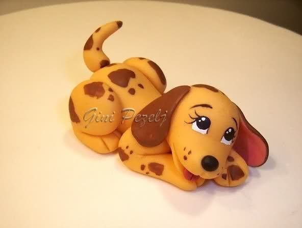 Cute spotted dog