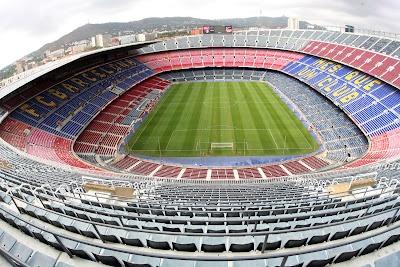 Estadio Camp Nou (Barcelona - España).