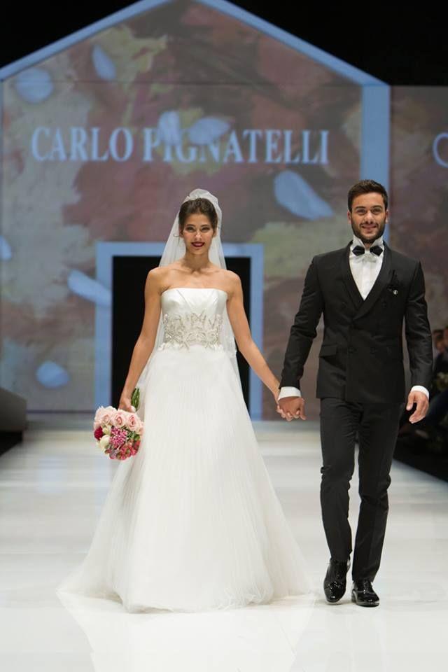 Ariadna Romero and Pierpaolo Pretelli both testimonial for Carlo Pignatelli