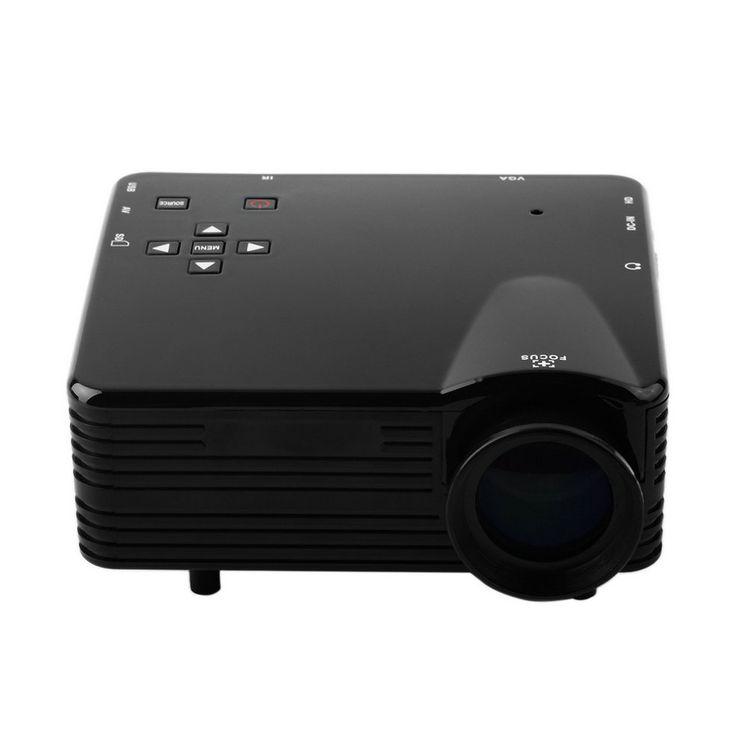 Оптовая продажа домашний кинотеатр мультимедиа из светодиодов жк-проектор VS-320 HD 1080 P пк av-тв VGA USB микро-hdmi
