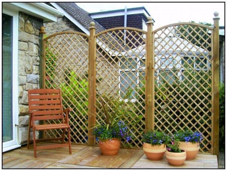 8 best treillis images on pinterest lattice quilt decks for Garden decking gumtree