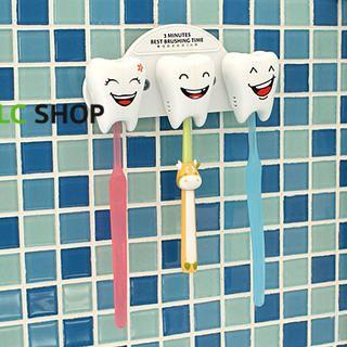Lazy Corner - Printed-Teeth Toothbrush Holder