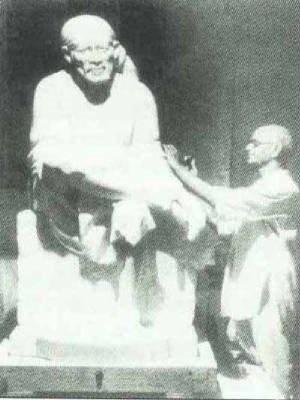 Sai Baba's original sculpture