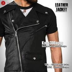 Kaos JAKET KULIT, Leather Jacket 3D Tshirt, Kaos 3 Dimensi, Grosir Kaos3D, Kaos 3D Murah, https://instagram.com/kaos3dbagus, WA : 08222 128 3456, LINE : Kaos3DBagus