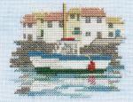 Harbour - Minuets - Cross Stitch Kit from Derwentwater Designs
