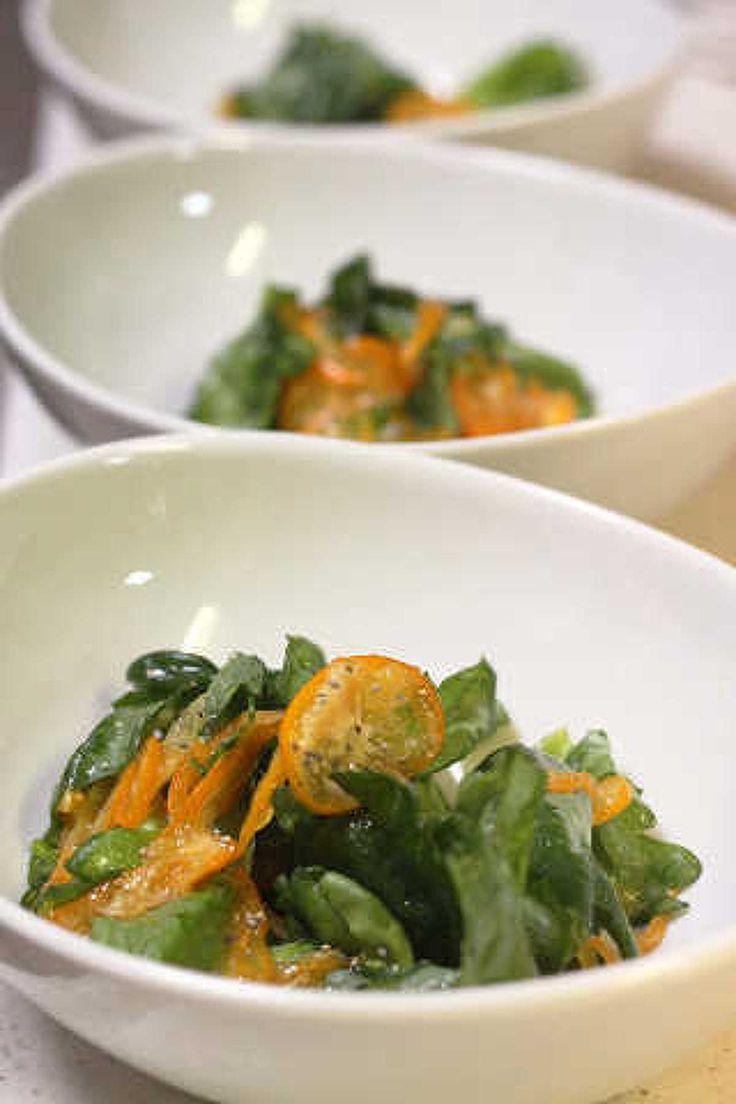 春菊ときんかんのサラダ by 登志子 | レシピサイト「Nadia | ナディア」プロの料理を無料で検索