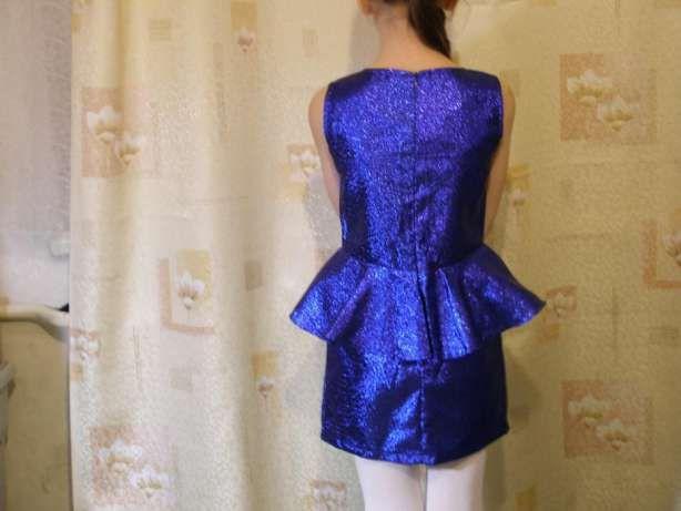 Нарядное платье для девочки---цвет электрик. Днепр - изображение 7