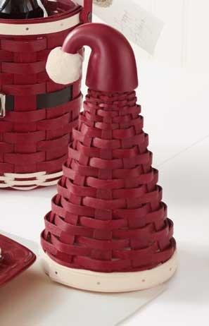 Cesta Sombrero de Papá Noel - Santa Hat Basket