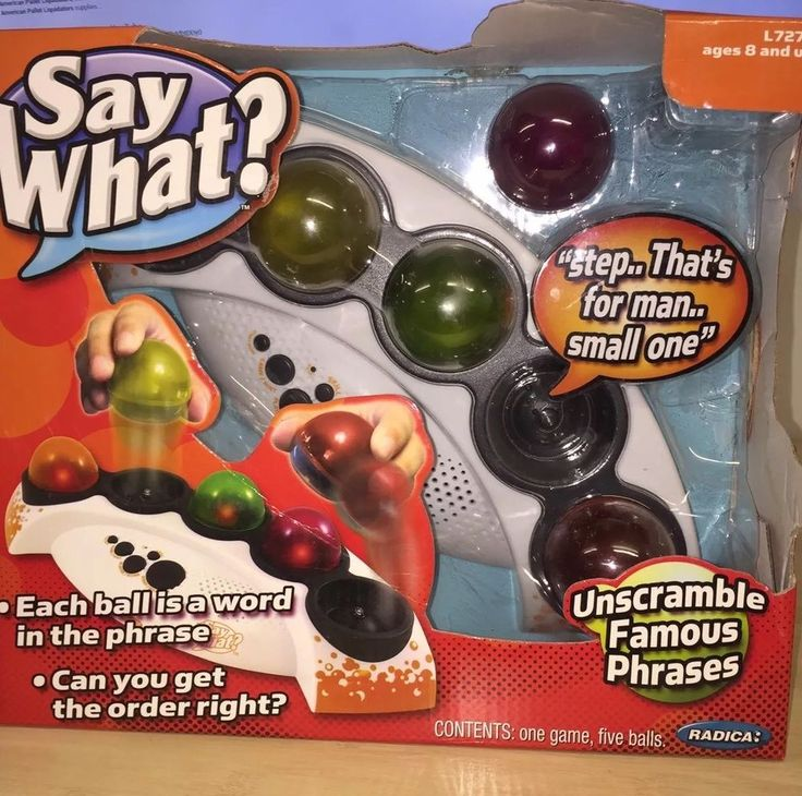 Radica SAY WHAT?  Electronic Famous Phrases Game New Gift  | eBay