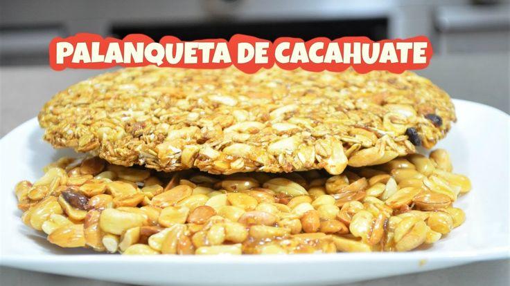 CHUCHEMAN - Como hacer Palanqueta (pipitoria) de cacahuate y granola, pa...