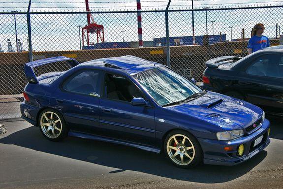 Subaru Impreza GT RS