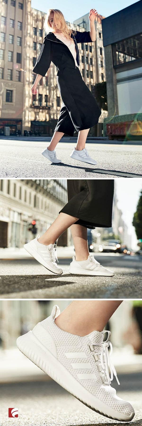adidas cloudfoam ultimate ladies trainers