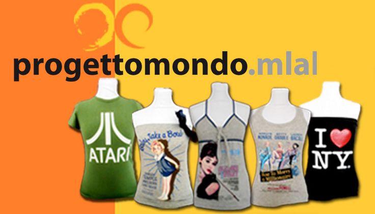 #madai #madaiAiD #ilprezzolosceglitu Magliette solidali Fix Design per ProgettoMondoMlal