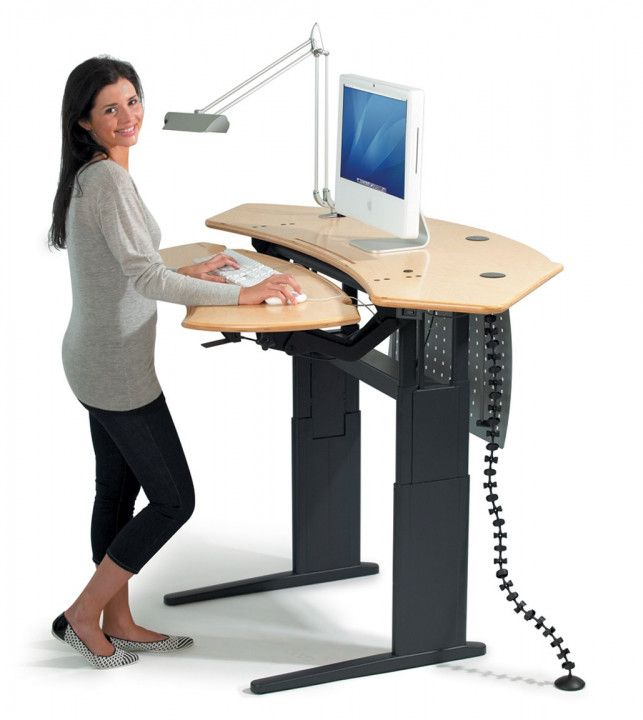 Chair For Stand Up Desk Diy Corner Desk Ideas Escritorio De Pie Flexo Nuevas Tendencias